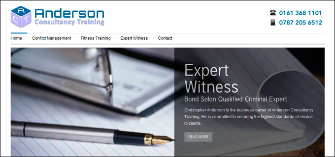 Anderson Consultancy Training
